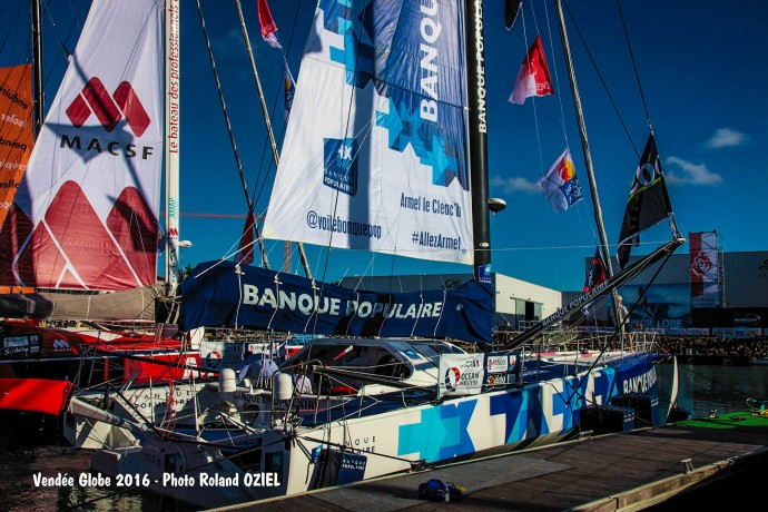 banque populaire armel le cleach vendee globe 2016